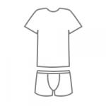 Комплект футболка з трусами